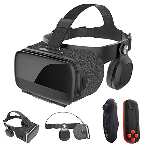 Houozon VR virtual reality glasses, remote 3D Android VR 3D headphones 7.4-6.2 inches, 3D Glasses VR Box Virtual Reality…
