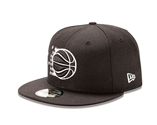 694d4883e5c NBA Orlando Magic NBA Hardwood Classic Black White 59Fifty