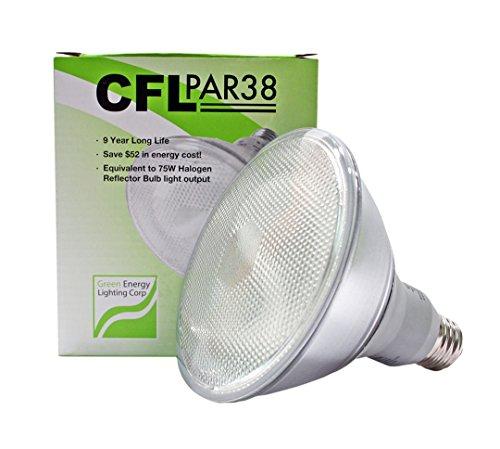 23W CFL PAR38 Fluorescent 4100K Cool White (75W Equivalent) ()