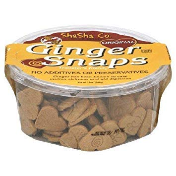 Shasha, Cookies Ginger Snaps, 12 Ounce