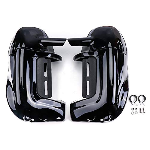 Lower Vented Leg Fairings with 6.5 Inch Speakers for 1983-2013 Touring Road Glide Street Glide Electra Glide