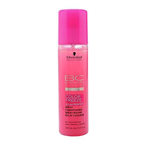 BC Bonacure COLOR FREEZE Spray Conditioner, 6.76 OZ/ 200 ml - Schwarzkopf Moisture Kick