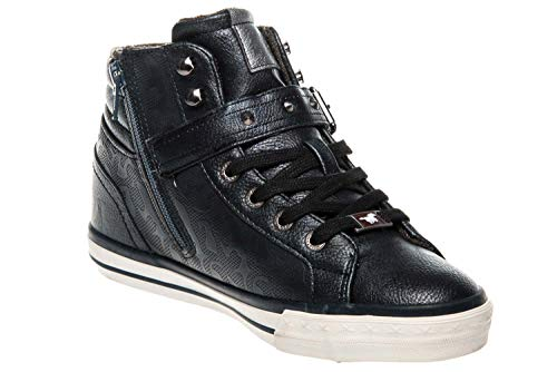 Top Sneaker Femme Hautes High Baskets Mustang 5RwBBF