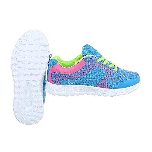 da Sneakers Design low Lumi Scarpe piatto donna Sneaker Ital PqdB1wFz1