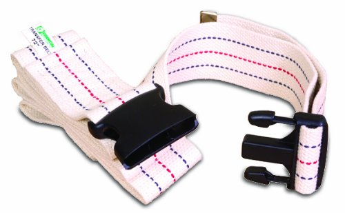 Essential Medical Supply Gait Belt with Plastic Buckle, 54 Inch by Essential Medical Supply