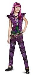 Disney Mal Classic Descendants 2 Costume, Purple, Medium...