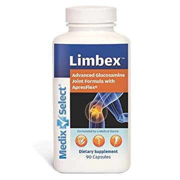 Image of Health and Household Limbex (90 Day Supply) Glucosamine & Chondroitin with Tumeric for Joint Health