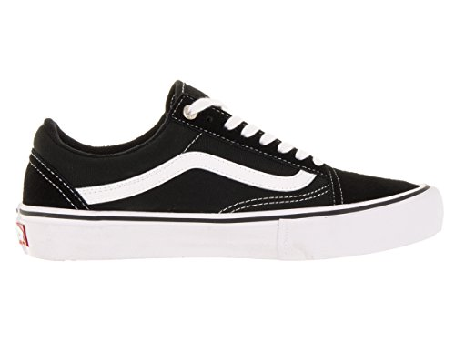 Vans Adulte Skool Baskets Old Basses Suede blanc Mixte Noir canvas Classic r7Orq8n