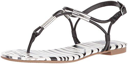 Dolce Vita Dames Marly Platte Sandaal Zwart / Multi