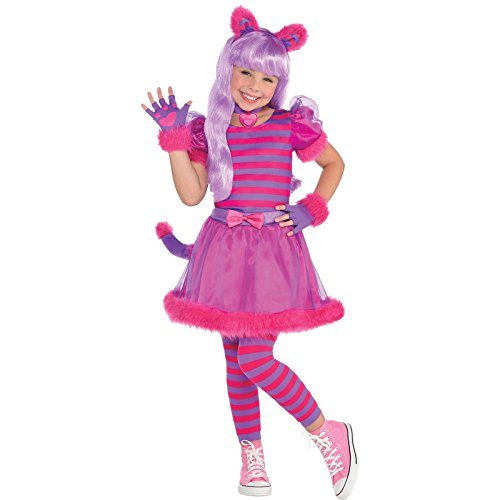Amscan Girls Cheshire Cat Costume - Medium -