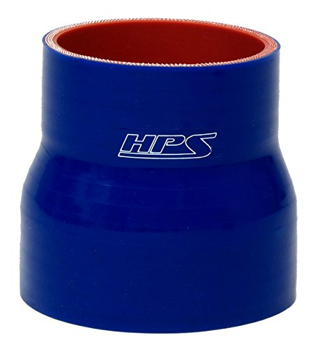 Blue 3 Length HPS HTSRNBLUE-245 3-4 ID Silicone Reducer Coupler Hose High Temp 4-Ply Reinforced Silicone 3 Length