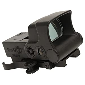 8. Aimshot HGPRO-B-G Green Cross Hair Reflex Sight, Black