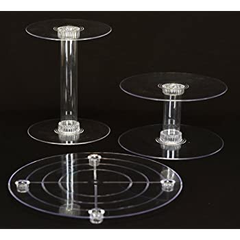 clear wedding cake stand 6 tier clear wedding cascade cupcake cake 12881