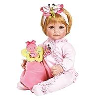 "Adora Toddler Butterfly Romper 20"" Girl Weighted Doll Gift Set for Children 6+ Huggable Vinyl Cuddly Snuggle Soft BodyToy"