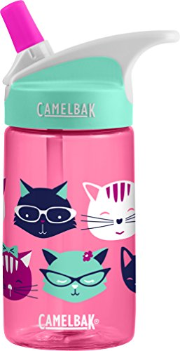 CamelBak Eddy Kids Water Bottle, Meow, 0.4 L