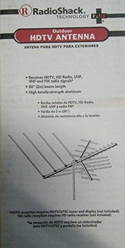 RadioShack Outdoor HDTV Antenna - 80