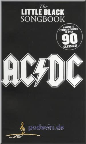 AC/DC – The Little Black Songbook – acordes de guitarra: Amazon.es ...