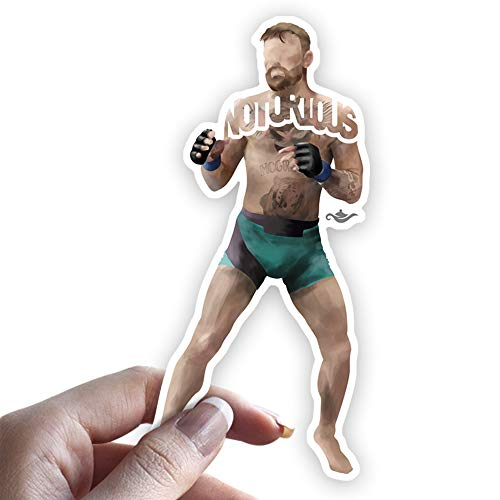 Grantedesigns Conor McGregor Sticker MMA Fighter from Ireland Sticker Decal for Laptop or Any Flat Surface