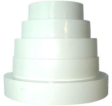 Acople Reductor / Reducción Universal Winflex PVC (80/100/120/125/150mm): Amazon.es: Jardín