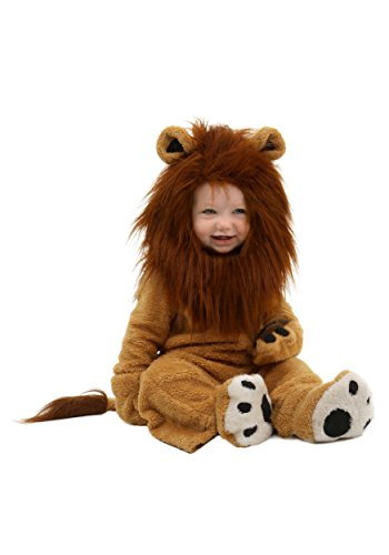 [Fun Costumes Infant Deluxe Lion Costume 12 Months] (The Beast Baby Costume)
