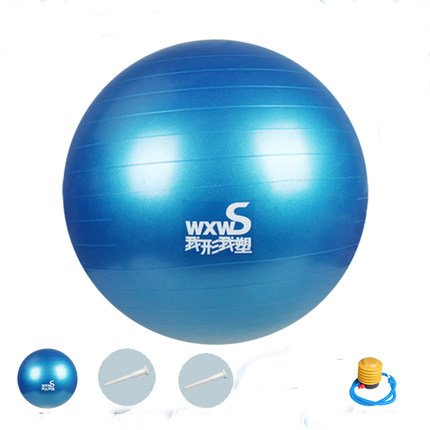 Anna Toys 45cm Blue Fitness Exercise and Stability Ball