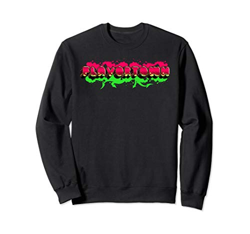 Flavortown Food Culture Sweatshirt (Diners Drive Ins And Dives Food Trucks)