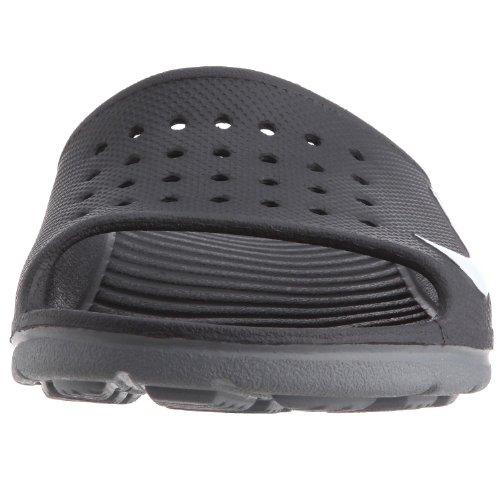 Nike Solarsoft Slide Black White Mens Sandals 46 EU