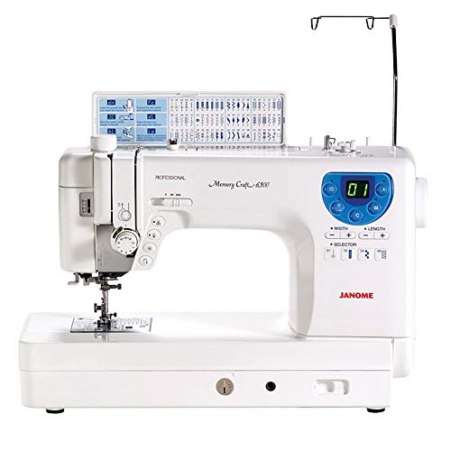 8. Janome MC-6300P Professional Heavy-Duty Computerized Quilting Sewing Machine