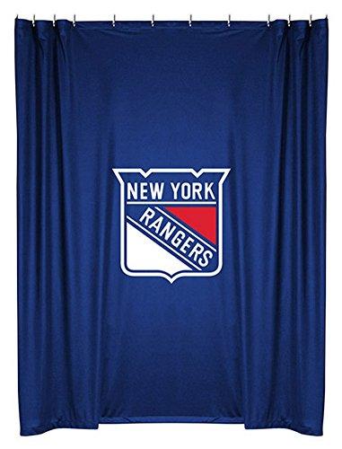 Amazon.com : NHL Winnipeg Jets Shower Curtain, 72 x 72, Midnight ...
