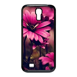 Custom Phone Case with Flower Wallpaper Image On The Back Fit To Samsung Galaxy S4