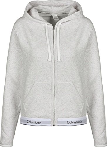 Calvin Underwear Klein Capuche À Snow Zippé Heather Sweat W r5rw6