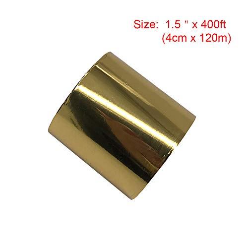 Foil Leather - 4cm Gold Hot Foil Stamping Paper 1.5