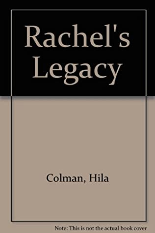 book cover of Rachel\'s Legacy