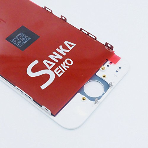 SANKA iPhone 5 LCD Screen Replacement White, Digitizer Display Retina Touch Screen Glass Frame Assembly for iPhone 5 - White (Free Tools Included) by SANKA (Image #6)