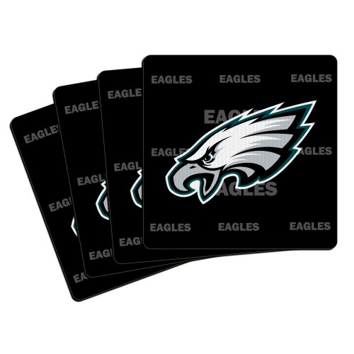 NFL Philadelphia Eagles Neoprene Coaster, 4-Pack