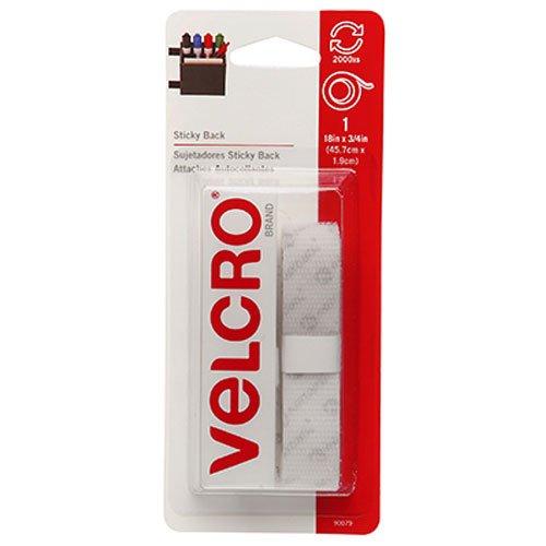 075967900793 - VEK90079 - Sticky-Back Hook Loop Fastener 3/4w Tape in Strips carousel main 0