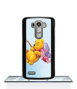 Winnie The Pooh And Piglet LG G4 Funda Case, Disney Protection Unique Pattern Rugged Drop Resistant Hard Plastic Vintage Fit for LG G4