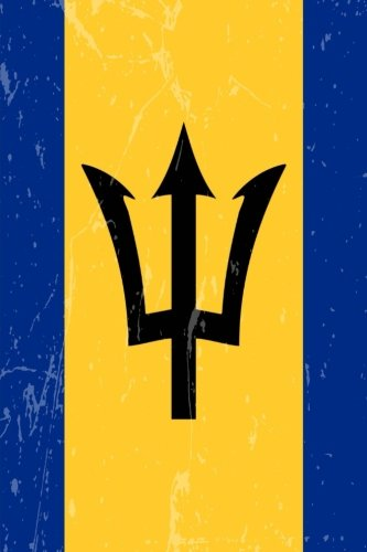 Barbados Flag Journal: Barbados Travel Diary, Barbadian Souvenir, lined Journal to write in