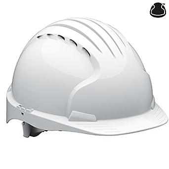 JSP ajf170/ /000/ color blanco con ventilaci/ón /100/EVO3/revoluci/ón rueda trinquete casco