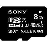 SONY microSDHC UHS-I メモリーカード Class10 8GB SR-8UYA T1
