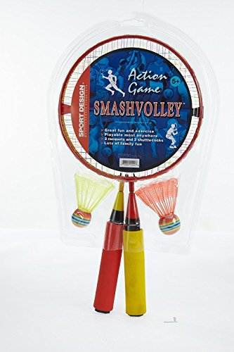 Sport Design Smashvolley Racquet Set Not Applicable Red/Yel sG9sYlXRo