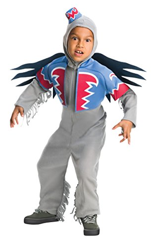 Size 4-6 Flying Monkey Child Costume Wizard of Oz 886496 Silver]()