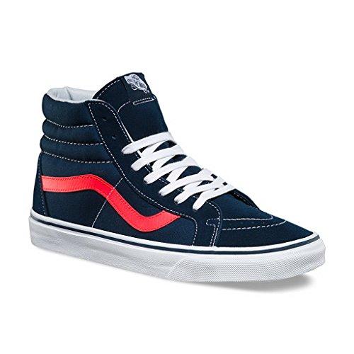 vans-neon-leather-sk8-hi-reissue-mens-skateboarding-shoes-vn-a2xsbmvk-85-dress-blues-neon-red