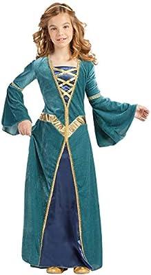 Disfraz Princesa Medieval (5-6 AÑOS): Amazon.es: Juguetes y juegos