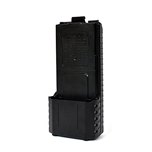 6xAA Battery Case Shell Black For Two Way Radio for Baofeng UV-5R UV-5RE Plus