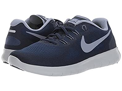 a6c972ea67a92 Image Unavailable. Image not available for. Color  Nike Free RN 2017 Binary  Blue Dark Sky Blue Obsidian Women s Running Shoes