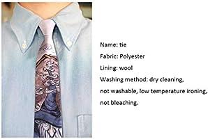 Corbata Impresa Colegio Viento Corbata británica (Color : White ...