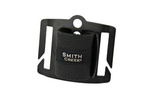 Smith Creek Net Holster, Belt-Mounted Landing Net Holder, Black Buckle (Fishing Guide Net Fly)