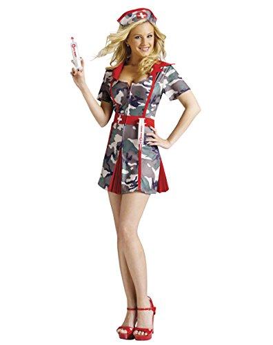 Fun World Sexy Army Nurse Party Shots Halloween Costume -