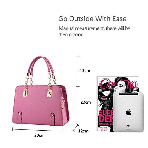 80b3cee269 amp;doris Di Nicole Catena Donne Pink Nuove Moda A Borsa Della Tracolla  drg4q0wxga